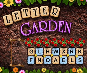 Games at Wellgames.com - Letter Garden