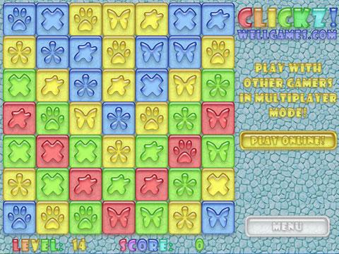 Clickz! Free Online Game