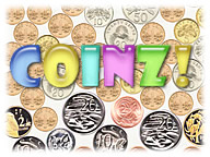 Try unique puzzle game Coinz!