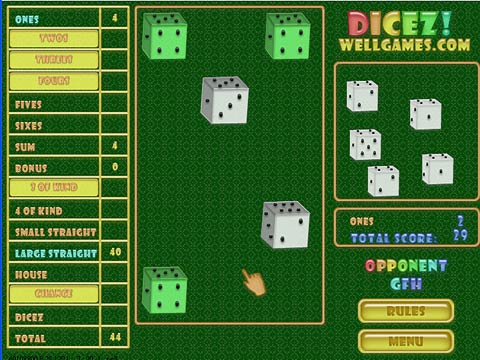 Dicez! Free Online Game