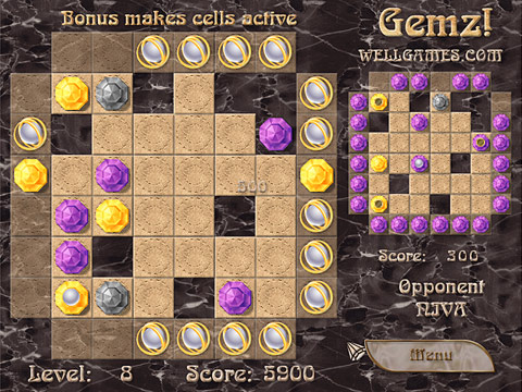 Gemz! Free Online Game