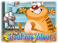 Steal the Meal: Unblock Puzzle Free Online Game