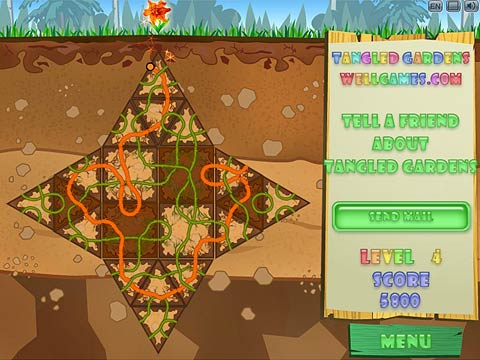 Tangled Gardens Free Online Game