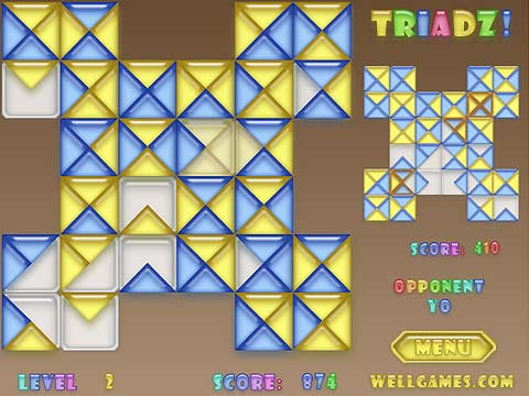 Triadz! Free Online Game