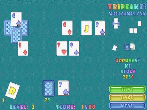 Tripeakz! Free Online Game