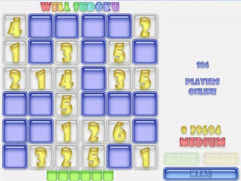 Well Sudoku! Free Online Game
